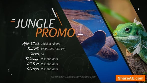 Videohive Jungle Promo