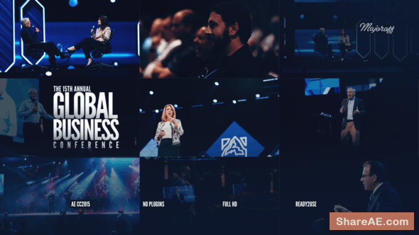 Videohive Global Business Conference // Event Promo