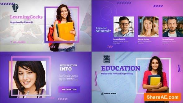 Videohive Education Meetup - Educational Masterclass