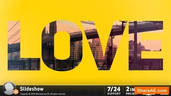Videohive Slideshow 18218502