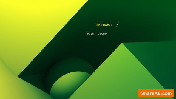 Videohive Gradient - Abstract Event Promo
