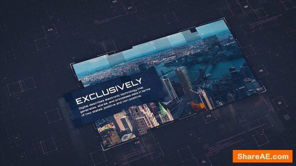 Videohive Digital Corporate Technology v.2