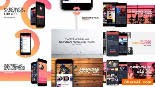 Videohive Music App Promo