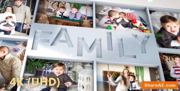 Videohive Family Photo Slideshow
