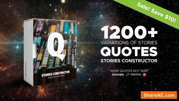 Videohive Stories Constructor - Quotes