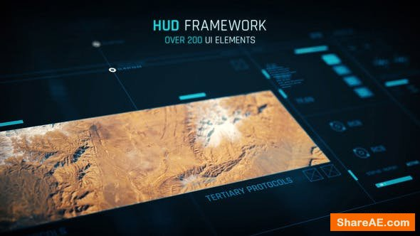 Videohive HUD - Framework