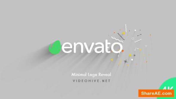 Videohive Minimal Logo Reveal 20734863