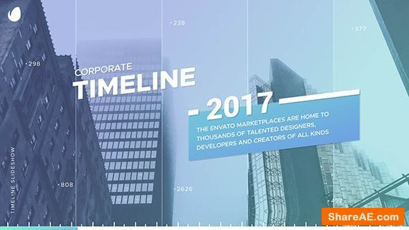 Videohive Corporate Timeline 20631043