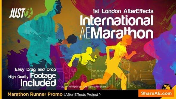 Videohive Marathon Runner Promo
