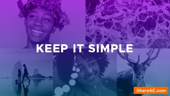 Videohive Keep It Simple / Title Sequence