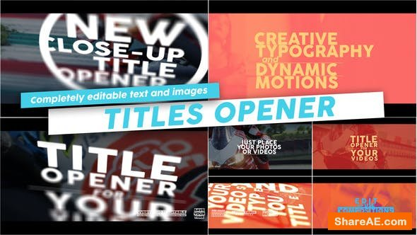 Videohive Titles Opener
