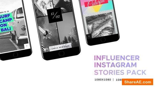 Videohive Influencer // Social Media - Instagram Stories Pack