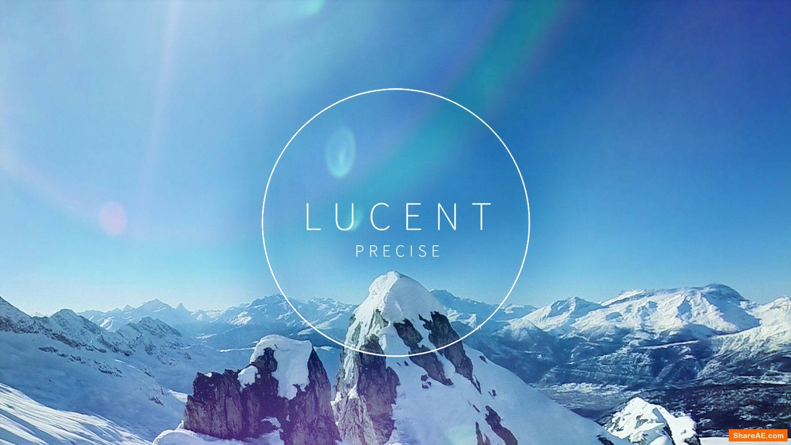 Lucent Precise: 110 Blue-Hued Lens Flares (RocketStock)