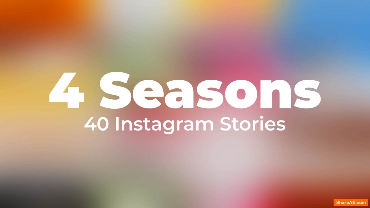 Seasons Instagram Stories - After Effects Templates (Motion Array)