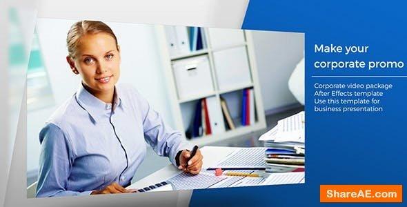 Videohive Clean Corporate Promo 13418346