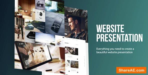 Videohive Website Presentation 14896375
