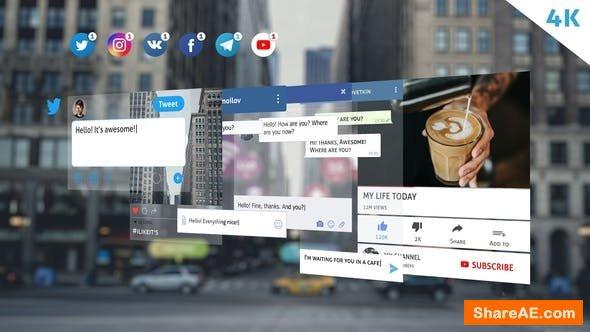 Videohive Social Media Pack 22621109