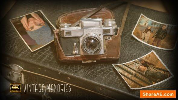 Videohive Vintage Memories 4K