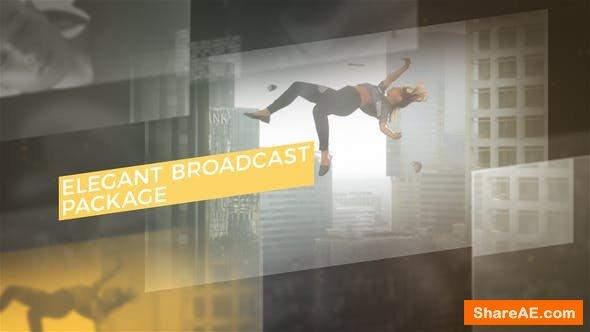 Videohive Elegant Broadcast Package 22441657