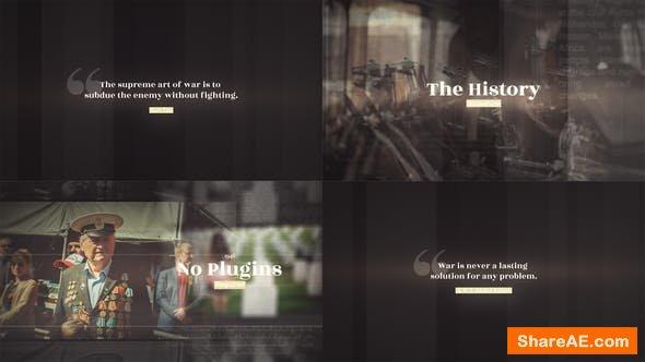 Videohive History Slideshow 22522339