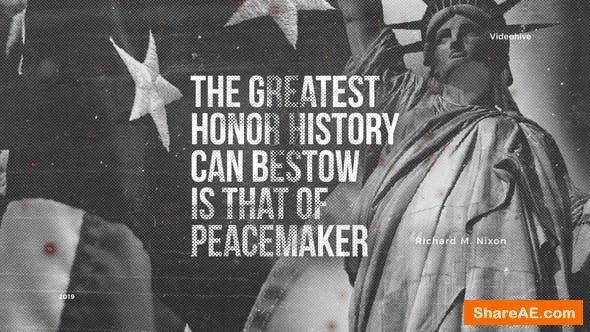 Videohive Historical Quotes - Slideshow