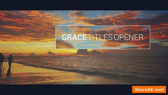 Videohive Grace // Titles Opener