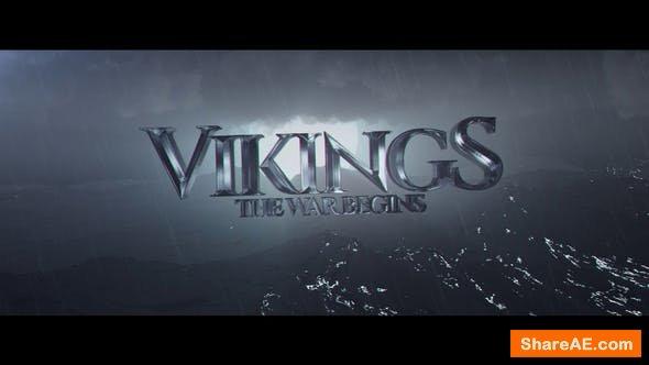 Videohive Vikings Title