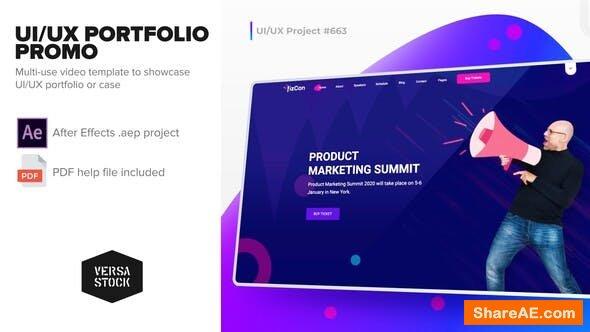 Videohive UI/UX Portfolio Promo