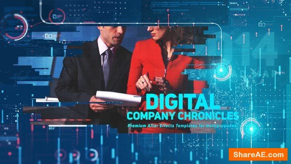 Videohive Digital Company Chronicles