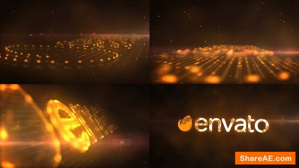 Videohive Digital Logo Reveal 22001637