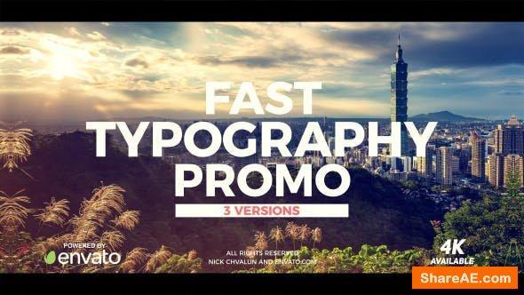 Videohive Fast Promo 20510295