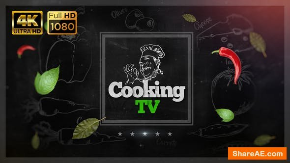 Videohive Cooking TV Show Pack 4K