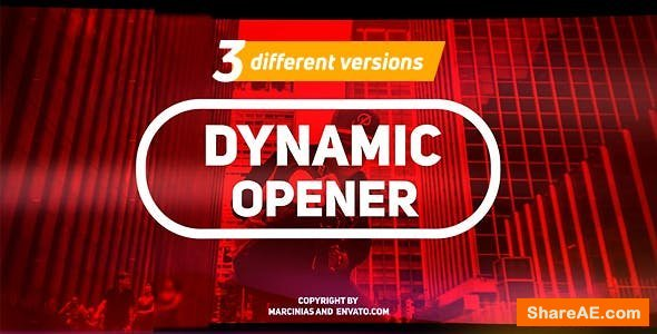 Videohive Dynamic Opener 20832408