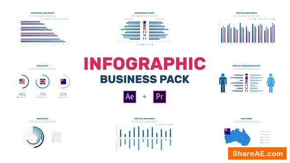 Videohive Infographic Business Pack