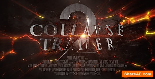 Videohive Collapse Trailer