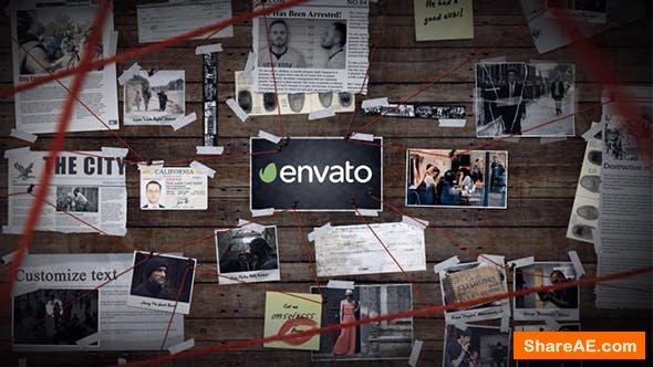 Videohive Investigation Board