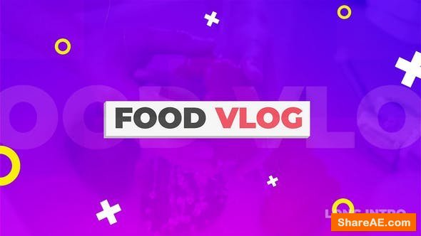 Videohive Food Vlog Pack