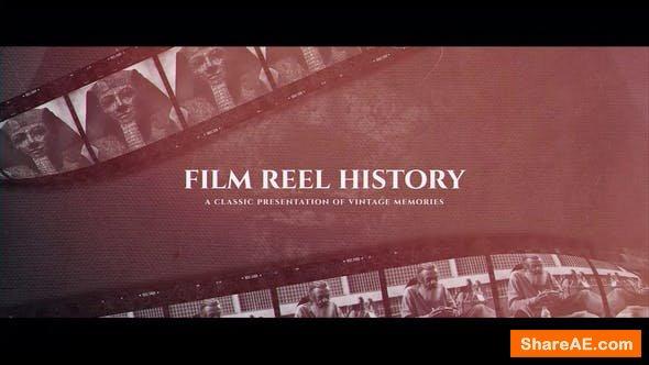 Videohive Film Reel History