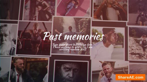 Videohive Past Memories