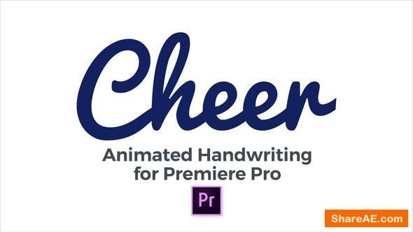Videohive Cheer - Animated Handwriting Typeface