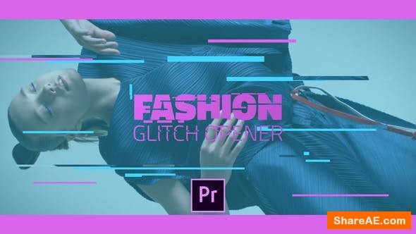Videohive Fashion Glitch Opener - Premiere Pro