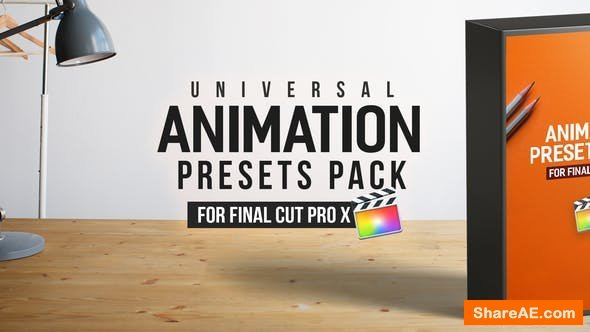 Videohive Animation Presets Pack - Final Cut Pro X