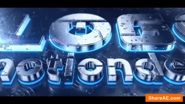 Videohive Rain 3D Logo
