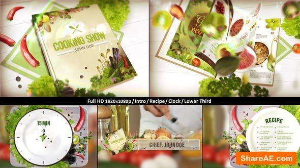 Videohive Cooking TV Show Pack | Journal