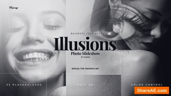 Videohive Illusions // Photo Slideshow