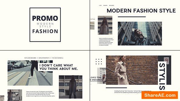 Videohive Stylish Fashion Promo 18464451