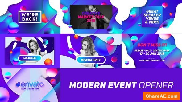 Videohive Modern Event Opener