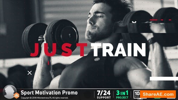 Videohive Sport Motivation Promo 19540919