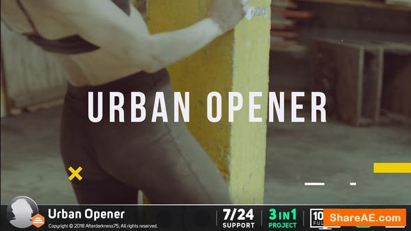 Videohive Urban Opener 20665557