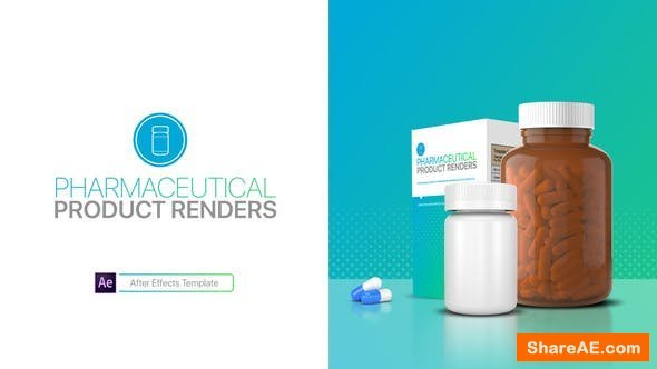 Videohive Pharmaceutical Product Renders